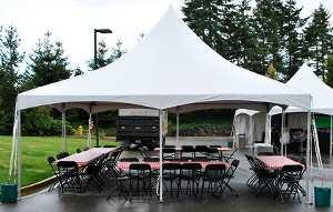 20′ x 20′ High Peak Tent