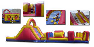 53′ Collision Obstacle Course