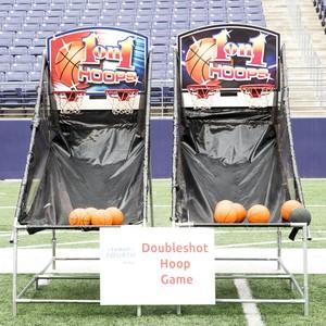 Doubleshot Hoop Game