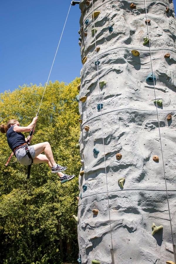 Mobile Climbing Wall