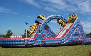 Wild One Roller Coaster Obstacle Course